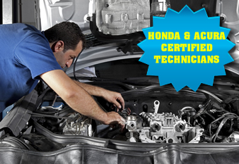 Acura and Honda Certified Technicians